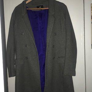 H&M Grey coat